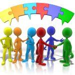 Список групп объединений для дистанционного обучения.